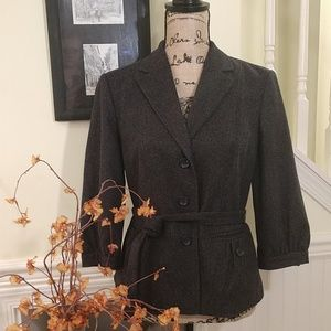 Banana Republic | EUC Gray Wool Blend Blazer